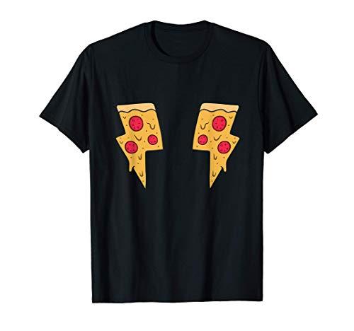 Awesome Pizza Lightning Bolts Camiseta