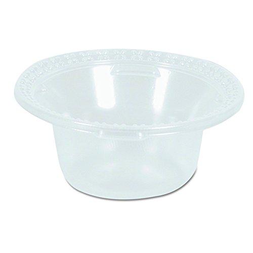 Buy Dixie 5 oz. Plastic Dessert Dish by GP PRO (Georgia-Pacific), Clear, DD05C, 1,000 Count (100 Bow...