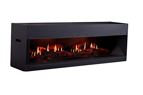 DIMPLEX OPTI-V Cassette OPTI-V Double Built-in Fireplace Eléctrico Negro Interior - Chimenea...