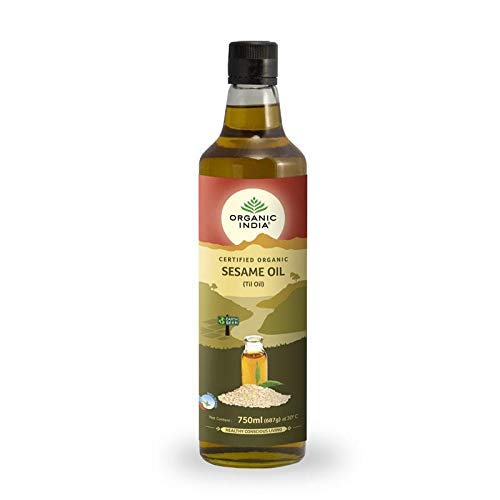 Organic India Sesame Oil, 750ml
