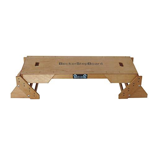 Becker Step Board Studio (BSG 28989-1) 5 livelli, grande, stabile, funzionale e naturale, utilizzabile anche come salto