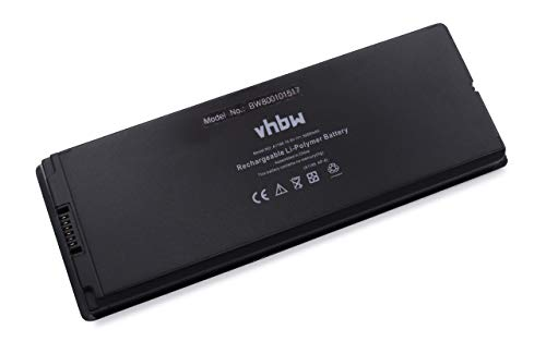 vhbw Li-ION Batterie 5000mAh (10.8V) Noir pour Laptop Notebook Apple MacBook 13\