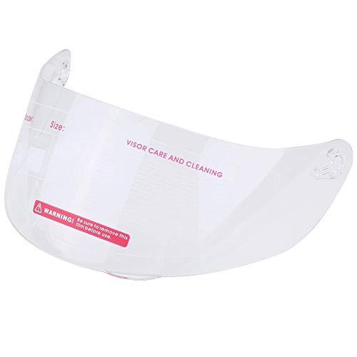 Reemplazo del parabrisas de la lente de la visera del casco de la motocicleta para 316902 AGV K5 K3SV Reemplazo de la lente del casco(Transparencia)