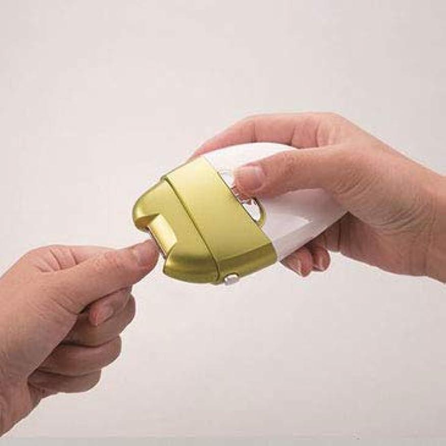 感動するロール日付電動爪削りLeaf DX