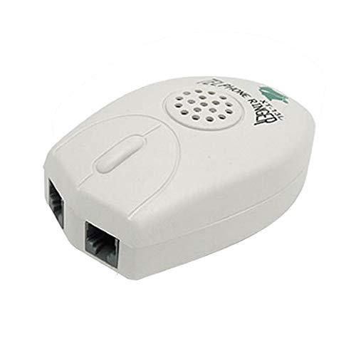 YUNB Forma Amplificador de Bell ratón Extra sonoro-Ring Timbre del teléfono RJ11