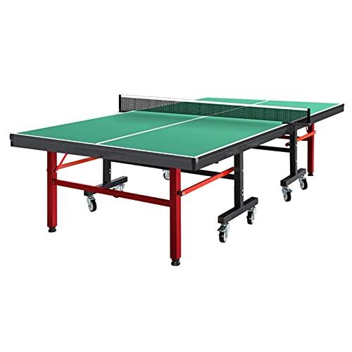 Profesional Mesa De Ping Pong con Ruedas, Mesa De Ping Pong Plegable...