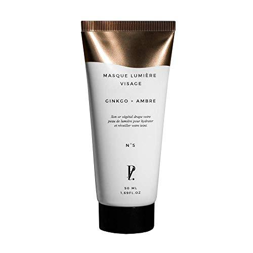 Receptlaboratorium - lätt ansiktsmask - vegetabiliskt guld - 97,2% naturligt ursprung - 50 ml