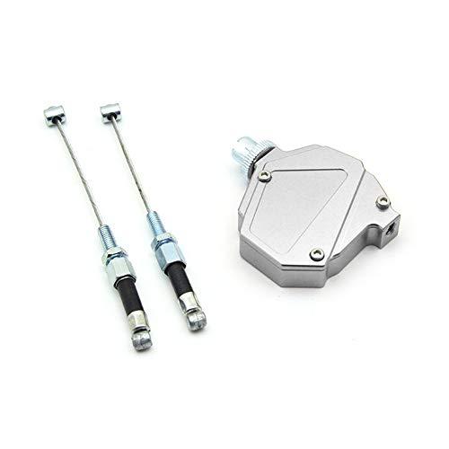iSpchen Motorräder CNC Stunt Kupplung Brems Kupplungshebel Bremshebel kupplungszug Universal Motorrad Kupplung Sat Kabel