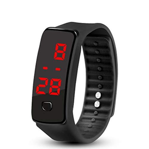 YoBuyBuy Bracelet en Silicone à LED Bracelet en Silicone léger et Doux pour Montre de Sport pour Hommes et Femmes