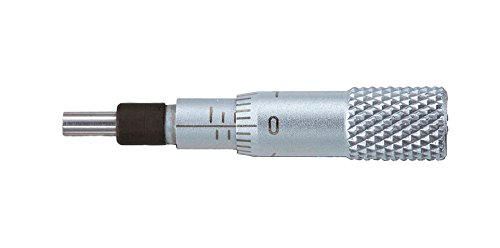 新潟精機 SK マイクロメーターヘッド ストレートステム 0-5mm 0000-050