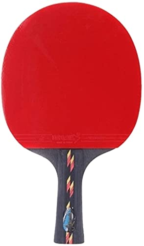 ZFQZKK Ping Pong Paddle Table Tennis Racket Pong Paddle Bat Case Bag Sacude Hands Hands Juego de Ping Pong (Color : Red, Size : One Size)