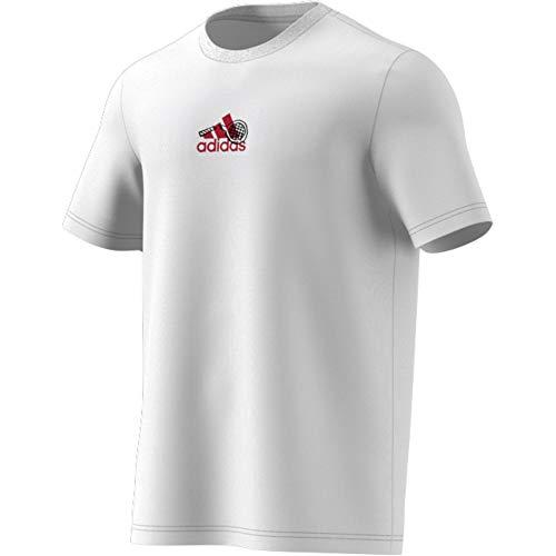 adidas M SS Q2 tee 1 Camiseta Hombre
