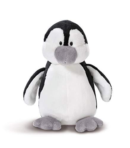NICI 43629 Kuscheltier Pinguin, 20 cm, weiß/schwarz