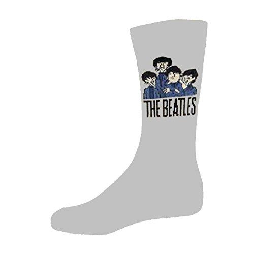 The Beatles Cartoon Group offiziell damen Nue Grau Socken (UK Size 4-7)
