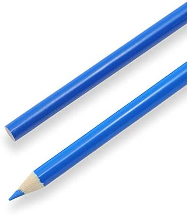 Pack of 12 Washout Pencils Blue