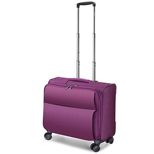 Travel Ware 1680D Poliéster Triple Compartimento Top Zip portátil Portfolio Overnighter (Size : 41...