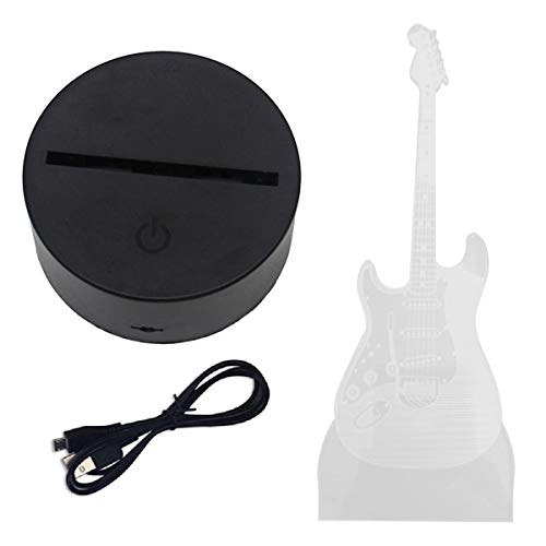 Tree-es-Life Control Remoto de Guitarra LED, luz Nocturna táctil, Interruptor de Control táctil USB Colorido, luz de Ambiente Interior, Juguetes para niños, Colorido