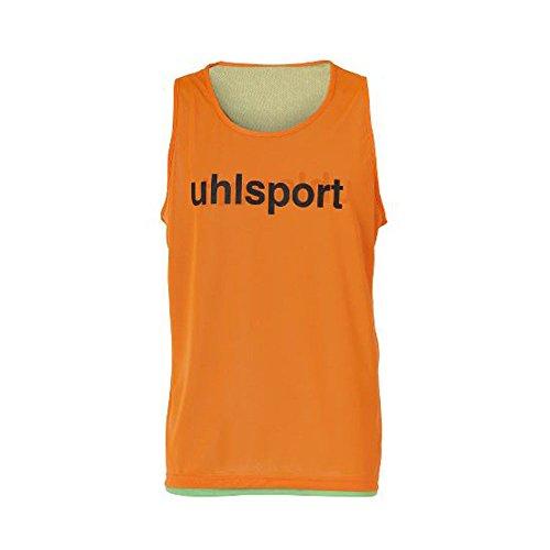 uhlsport Wende-MARKIERUNGSLEIBCHEN, Größe:XL/XXL, Farbe:orange/grün