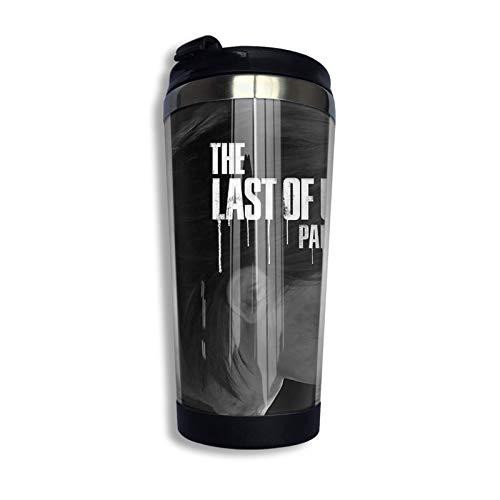 Ahdyr Edelstahl Travel Kaffeetasse, The Last of Us Teil 2 Traurige Ellie Travel Tasse Kaffeetasse Edelstahl Vakuumisolierter Becher 13,5 Unzen