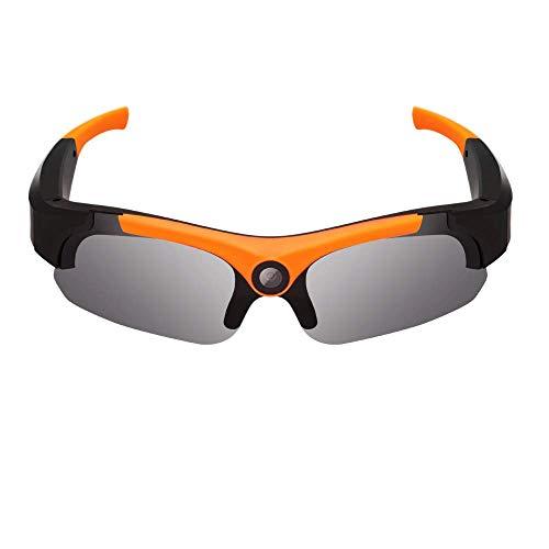 HD Smart Glasses 1080P Deportes Video al aire libre Gafas Récord, Tomar fotos, Gafas de sol, Video Gafas-Cámara inteligente Gafas de gran angular deportes al aire libre DV Grabadora de conducción