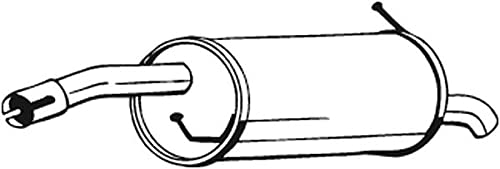 Bosal 154-923 Silencieux arrière