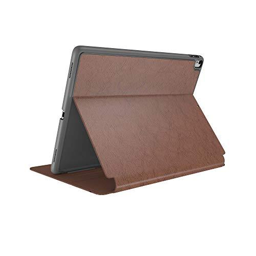 Speck Products 111056-0663 - Funda de Piel Tipo Libro para iPad 9.7 Pulgadas (2017/2018), 9.7 Pulgadas, iPad Air 2/Air, Color marrón Nogal