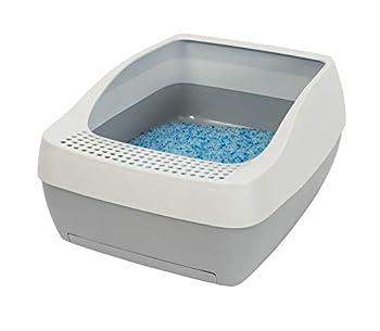 Système de litière pour chat Cristal Deluxe Petsafe - des fabricants des systèmes de litière Autonettoyantes ScoopFree pour chat