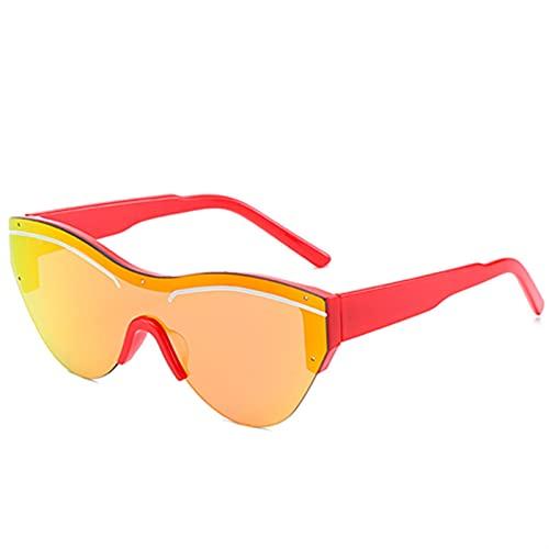FDNFG Vintage Gafas de Sol Negras Mujeres Retro Triángulo Gafas de Sol Sombras Femeninas Ladies Letra Eyewear UV400 Gafas de Sol (Lenses Color : Clear)