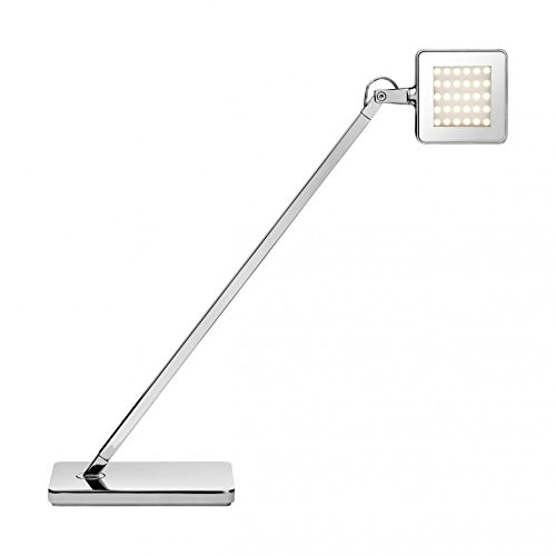 Mini Kelvin LED Tischleuchte chrom