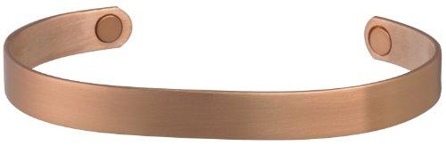 Sabona Brushed Copper Original Magnetic Bracelet, Medium