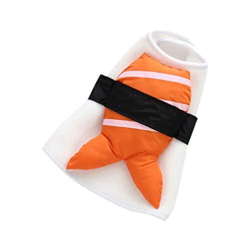 POPETPOP Costume Cosplay Sushi Pet Cani Vestiti Costume Divertente Cucciolo Costume Cane Vestito Cosplay per La Festa di Halloween