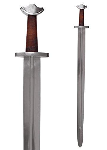 Battle-Merchant Schwert Wikinger Tempelschwert mit Scheide, Schaukampfschwert SK-B
