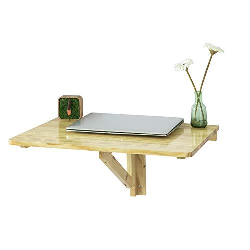SoBuy FWT03-N Wandklapptisch Küchentisch Kindermöbel Laptoptisch Esstisch Schreibtisch 60x40cm Natur