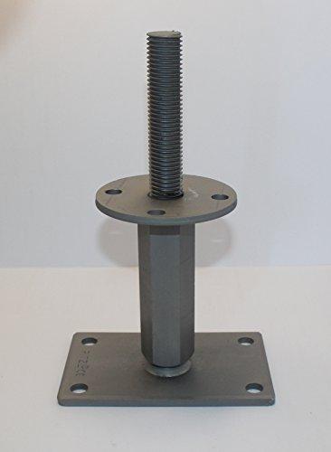 1 Stück Pitzl® Pfostenträger Typ -IZ-ZiNiP höhenverstellbar, Nutzungsklasse 3, mit EU-Zulassung ETA-10/0413