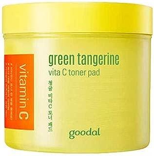グダール青みかんヴィータCトナーパッド70枚 Goodal Green Tangerine Vita C Toner Pad 70p 青ミカン クリーム 韓国コスメ