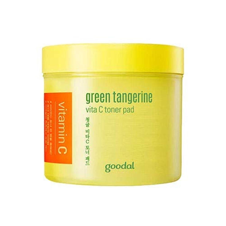 クモ原油エジプトグダール青みかんヴィータCトナーパッド70枚 Goodal Green Tangerine Vita C Toner Pad 70p 青ミカン クリーム 韓国コスメ