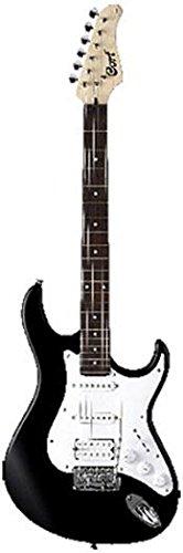Cort G110 de la guitarra eléctrica Negro Brillante
