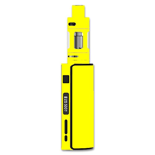 Decal Sticker Skin WRAP Solid Yellow Color for Eleaf iStick 60W TC Melo 2