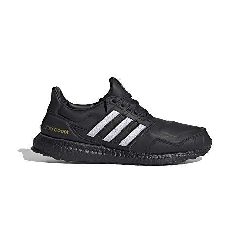 adidas Ultraboost DNA Lea - Zapatillas de running para hombre, color negro, Hombre, EG2043, Negro , 44 2/3 EU