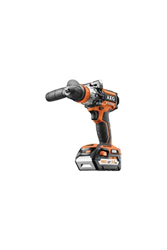 Brushless AEG 18V Lithium-Ion Hammer Drill - 2 x 5.0Ah Batteries - 1 Charger - BSB18CBLLI-502C
