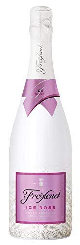 Freixenet ICE Rosé D.O. Cava, Halbtrocken, 12,5% Alkohol (1 x 0,75 l Flaschen) – Sommergetränk aus feinsten Rebsorten