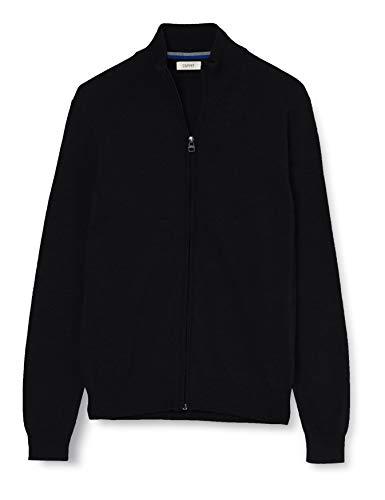ESPRIT Herren 999Ee2I805 Pullover, Schwarz (Black 001), X-Large (Herstellergröße: XL)