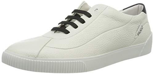 HUGO Zero Wave-C, Zapatillas para Mujer, White100, 42 EU