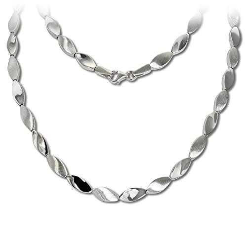 SilberDream Collar de plata de 45 cm de plata 925 SDK4793J