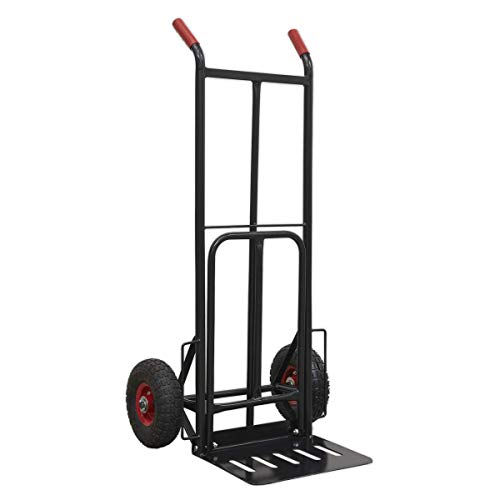 Sealey CST990HD 300kg Capacity Heavy-Duty Sack Truck with PU Tyres