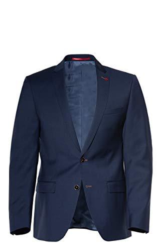Roy Robson Slim Fit Chaqueta de Traje, Azul (Dunkelblau 19), 50 para Hombre