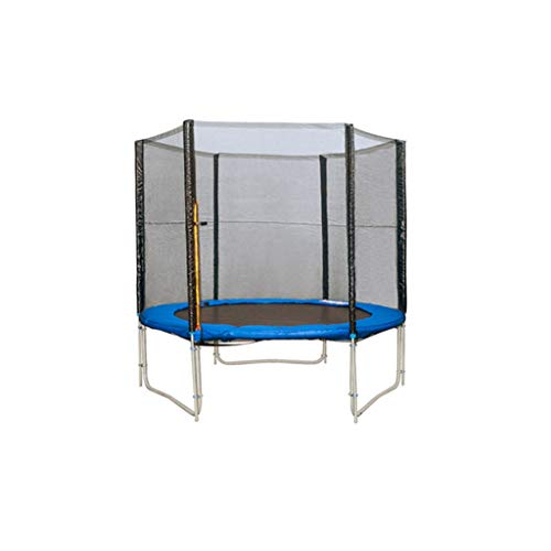 Xuping Trampoline Large Protective Net Commercial Household Children Indoor And Outdoor Adult Square Outdoor Trampoline (Size : 6 inches 1.83meters)