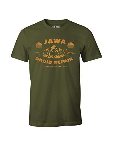 cotton division Herren Meswclats014 T-Shirt, Khaki, M