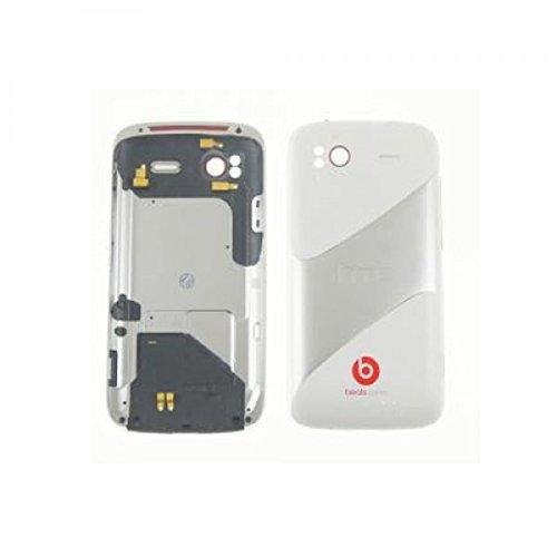 HTC Sensation G14, Sensation XE G18 Rückgehäuse Akkudeckel Gehäuse Schale Housing Cover weiss - Bulk