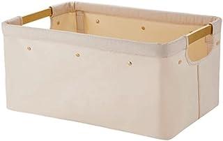 Gamssdllsxyl Oanier Rangement, Fibre de Polyester + Alliage d'aluminium Panier de buanderie Pliant de ménage Taille 45cm *...